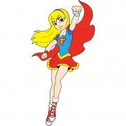 DC SUPER HERO GIRLS - SUPERGIRL MÉDIO 37,0X70,0CM