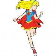 DC SUPER HERO GIRLS - SUPERGIRL PEQUENA 16,0X30,0CM