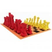Jogo de Xadrez Grande 28,5x28,5cm