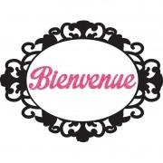 PARIS - FAIXA BIENVENUE   50,0X37,0CM