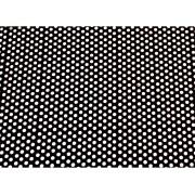 Placa de Bolinhas Grande de 6mm Branca Fundo Preto 40x60