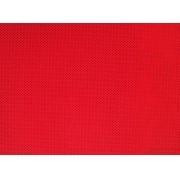 Placa de Bolinhas Pequena de 1mm Preta Fundo Vermelho 40x60cm