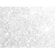 Placa Glitter Branca em E.V.A 40x60cm