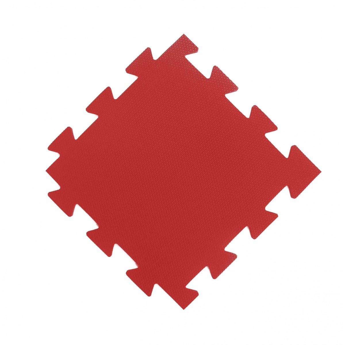 Tatames 50x50cm Com 10mm de Espessura   Vermelho  - Brindes Visão loja