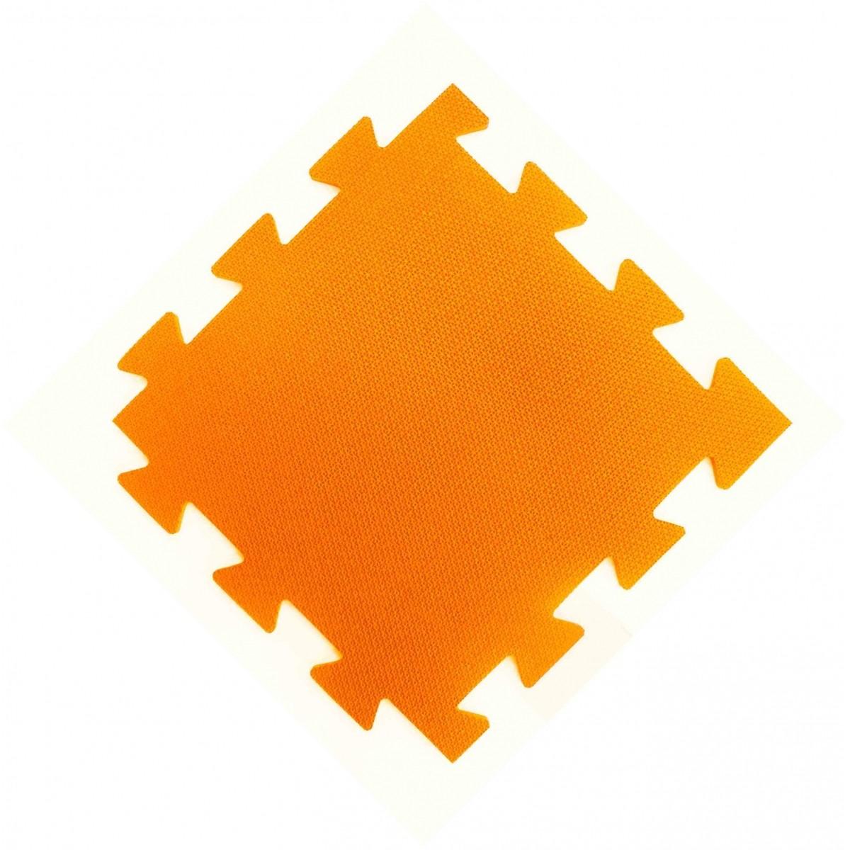 Tatames 50x50cm Com 10mm de Espessura   Laranja  -