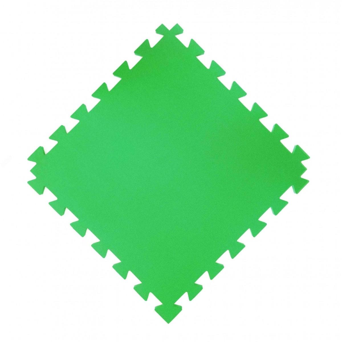 Tatame  100x100cm Com 20mm de Espessura    Verde  - Brindes Visão loja