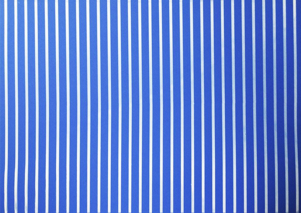 Placa Listrada Branca Fundo Azul 40x60cm  -