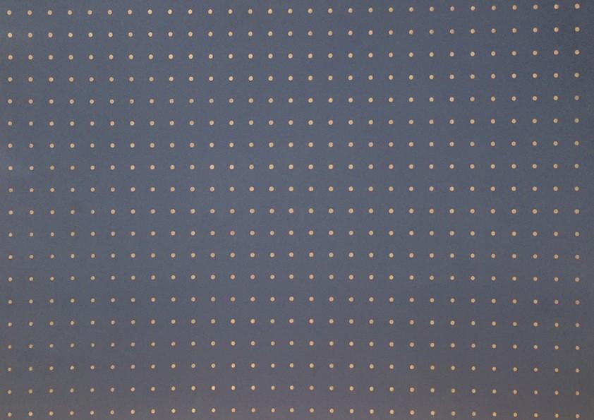 Placa Bolinha Media de 4mm Bege e Fundo Azul  40x60cm  - Brindes Visão loja