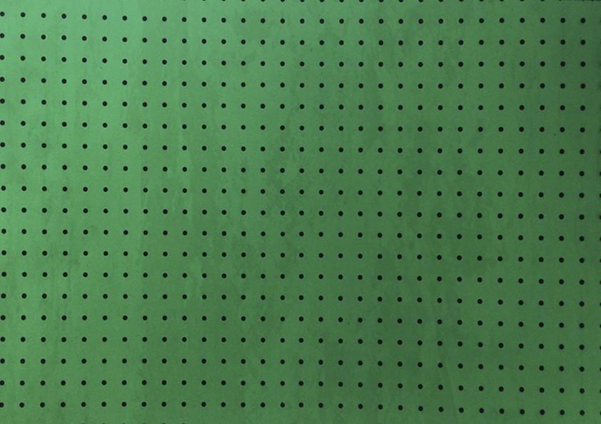 Placa Bolinha Media de 4mm Branca em fundo Verde Limão  40x60cm  - Brindes Visão loja