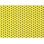 Placa Ratinho Preto Fundo Amarelo 40x60cm