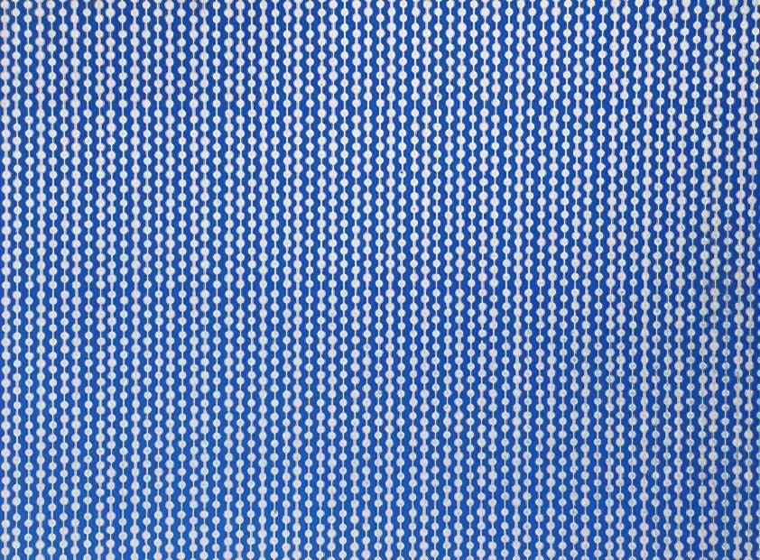 Placa Cordão Branco Fundo Azul Royal 40x60cm  -