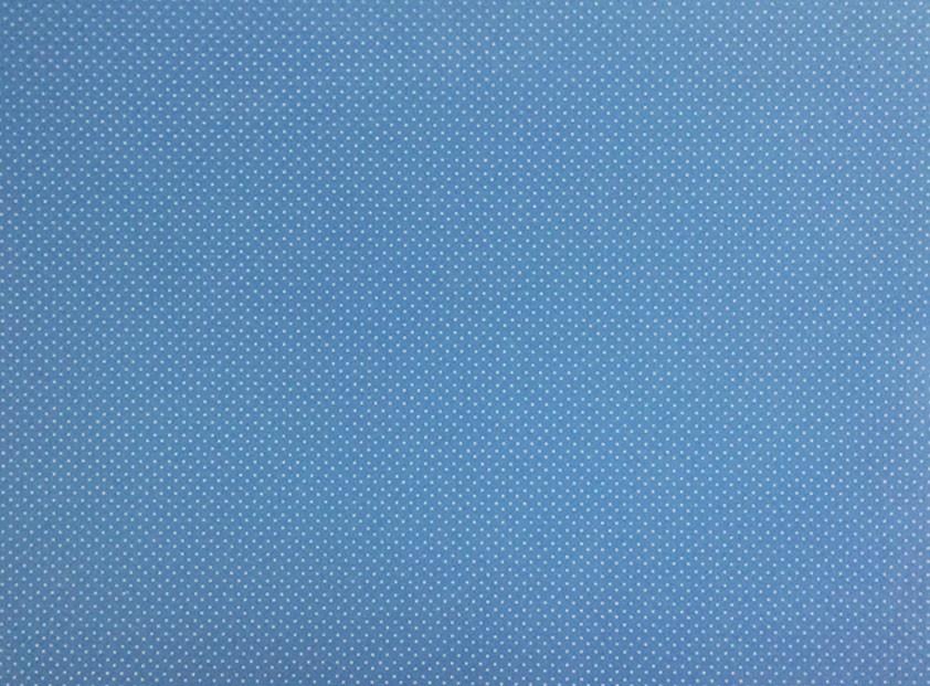 Placa de Bolinhas Pequena de 1mm Branca Fundo Azul Claro 40x60cm  -