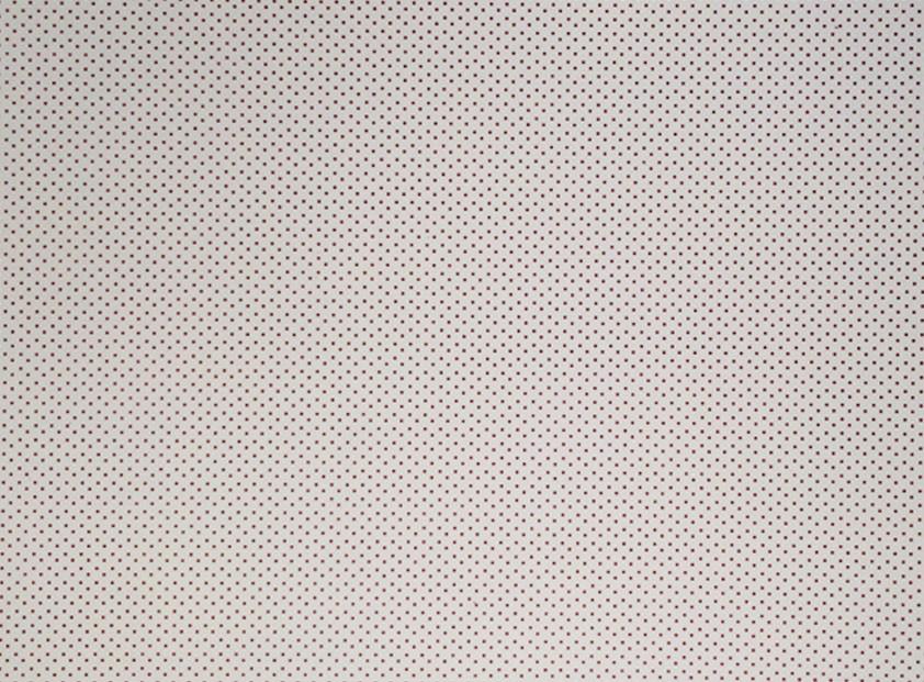 Placa de Bolinhas Pequena de 1mm Vinho Fundo Branco 40x60cm  -