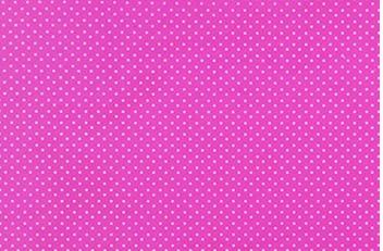 Placa de Bolinhas Pequena de 1mm Branca Fundo Rosa Pink  40x60cm  -