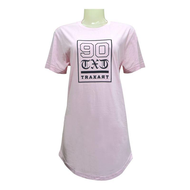 Camiseta  Traxart Long Line Feminina - DV-133