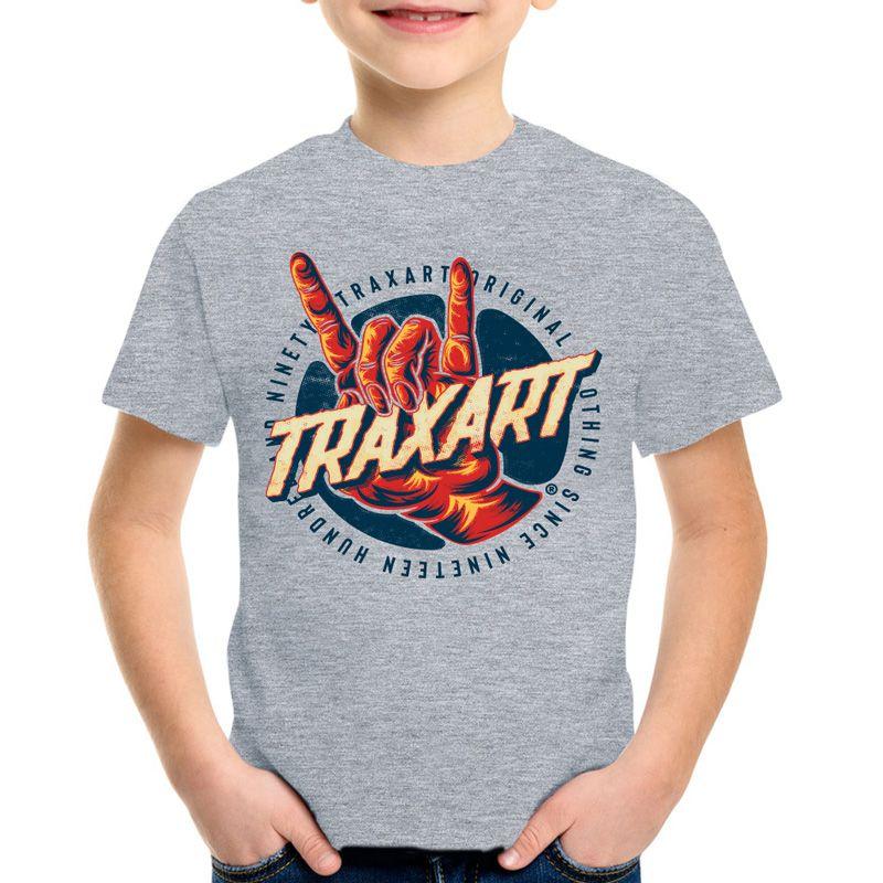 Camiseta Traxart Infantil Red Hand - DV-106
