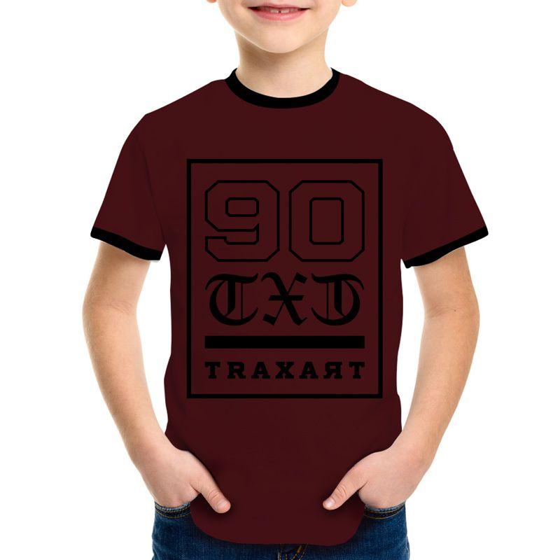 Camiseta Traxart  Long Line Infantil - DV-109