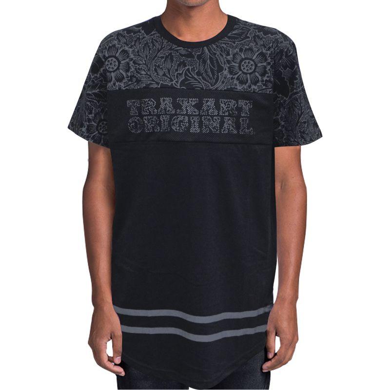 Camiseta Traxart Long Line - DV-158