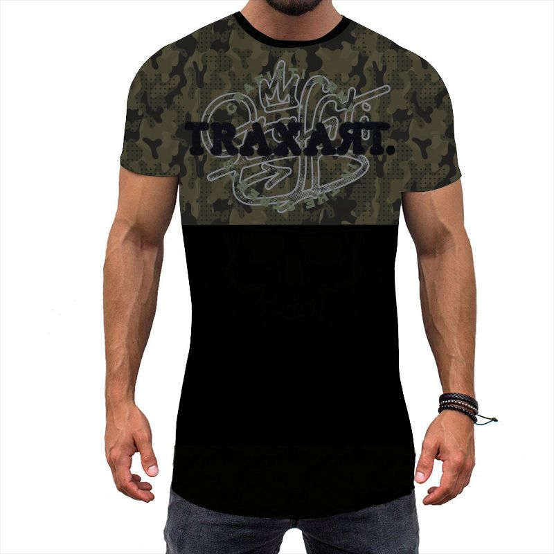 Camiseta Traxart Long Line War DV-091
