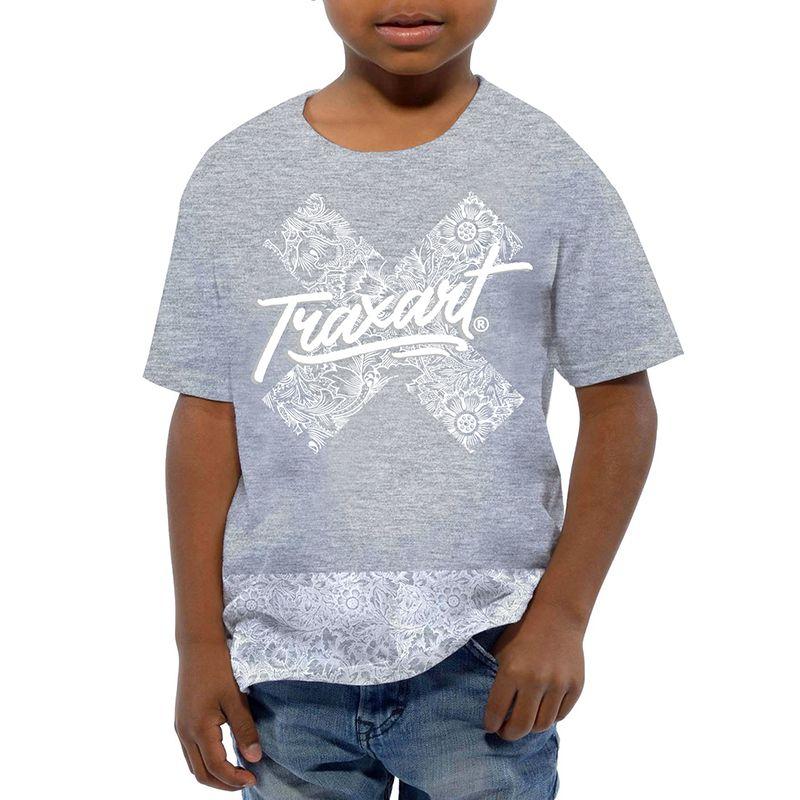 Camiseta Traxart  Long Line Infantil - DV-110