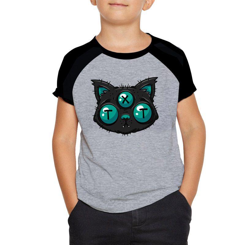 Camiseta Traxart Raglan Infantil - DT-232