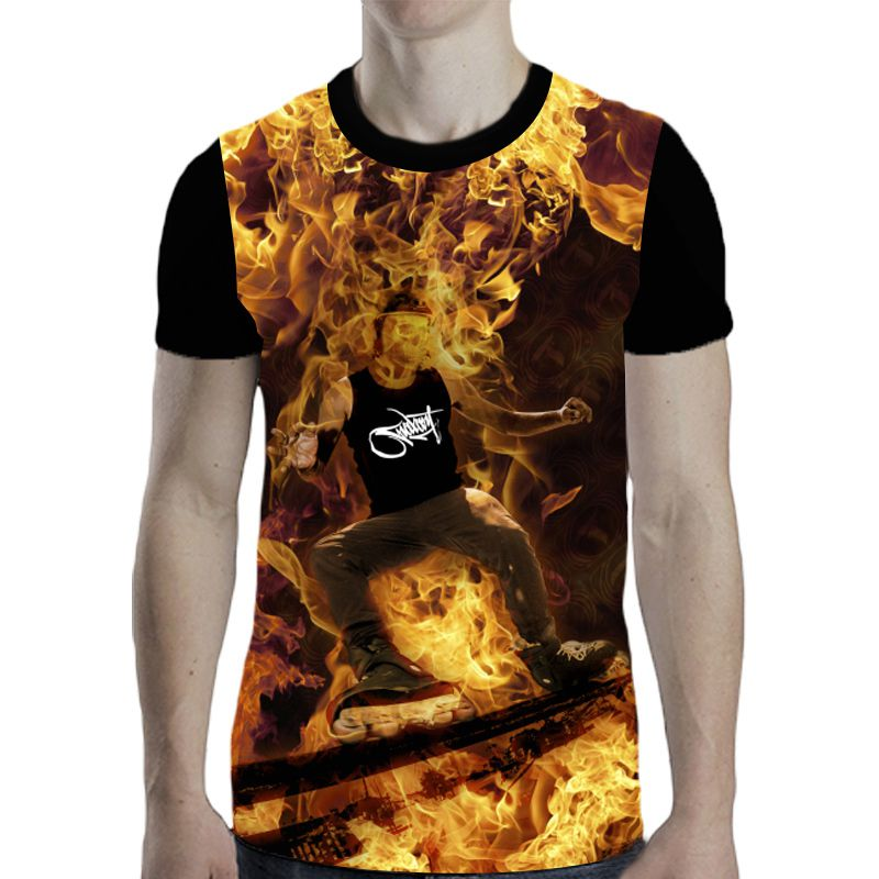 Camiseta Traxart Sublimada - DT-374