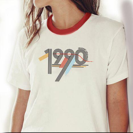 Camiseta Traxart Feminina 1990 TRAXART ORIGINALS - DW-217
