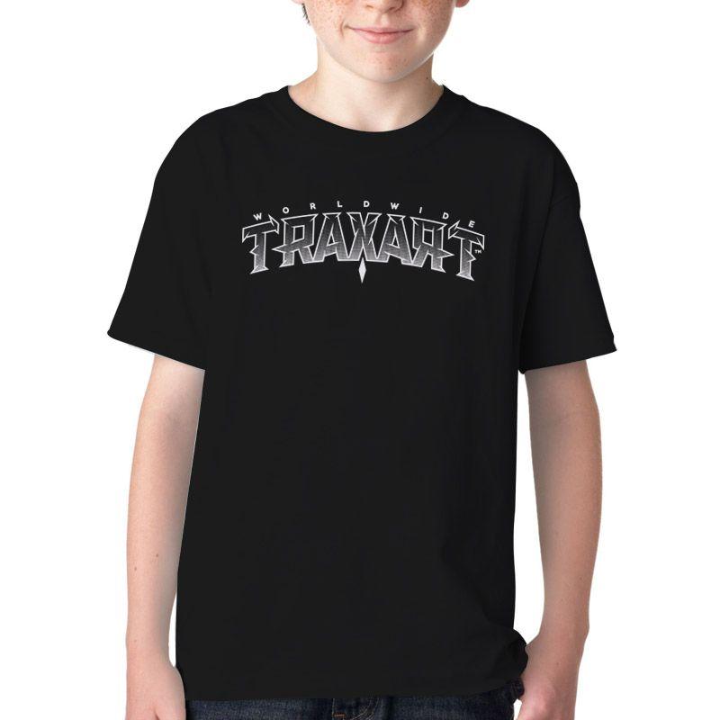 Camiseta Traxart Infantil Black Panther DW-159