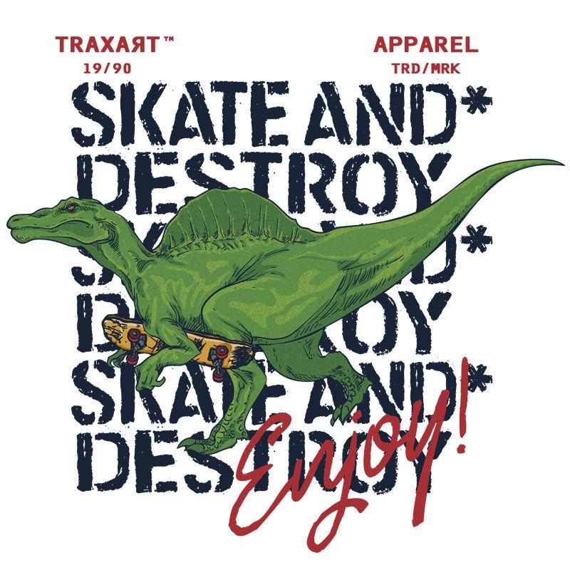 Camiseta Traxart Infantil Destroy & Enjoy - DW-226