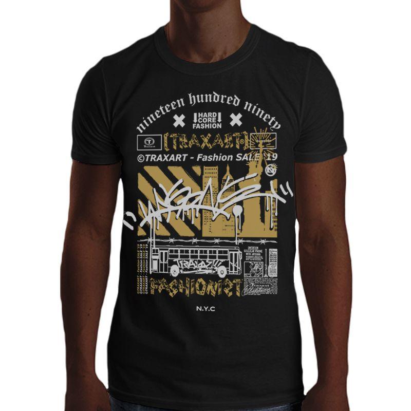 Camiseta Traxart Tradicional Fashionist - DW-162