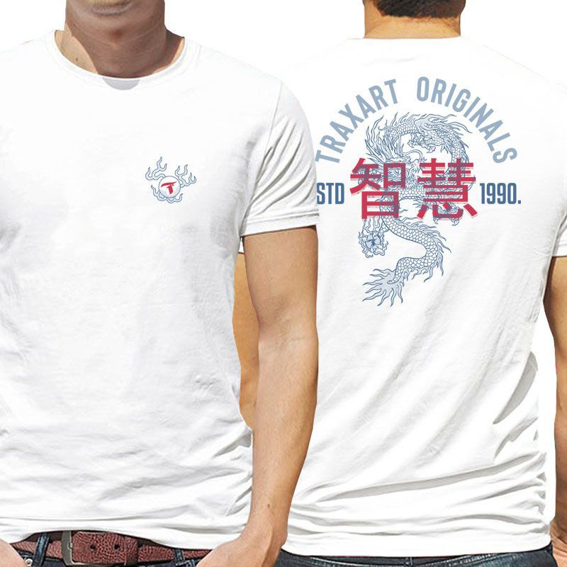 Camiseta Traxart Tradicional Dragon - DW-152