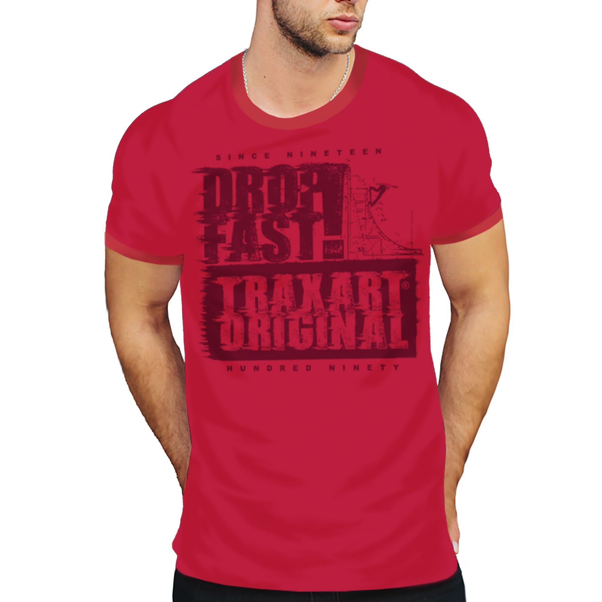 Camiseta Traxart Tradicional Drop Fast - DW-143