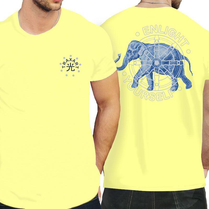 Camiseta Traxart Tradicional Enlight Yourself - DW-153