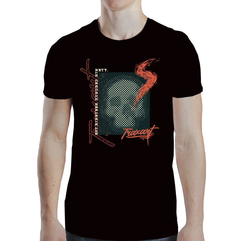 Camiseta Traxart Tradicional S-Skull - DW-145
