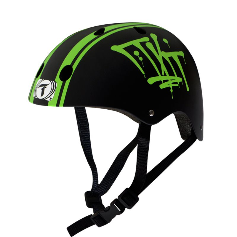 Capacete Traxart - Stripes - Intermediário Esportivo para  Skate / Patins / Bike
