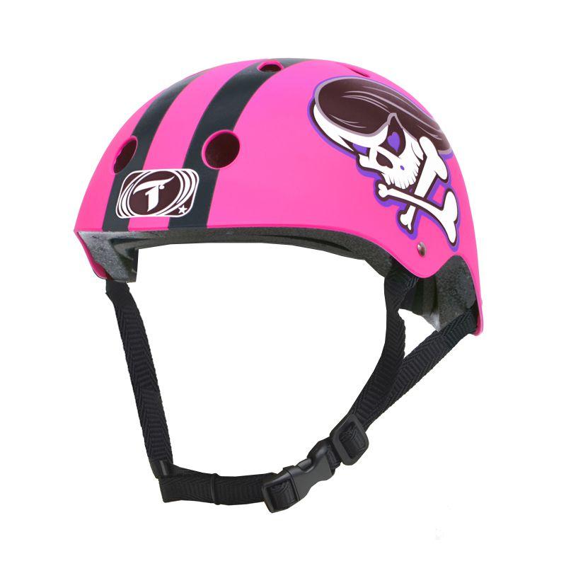 Capacete Traxart - Skull Girl - Intermediário Esportivo para  Skate / Patins / Bike