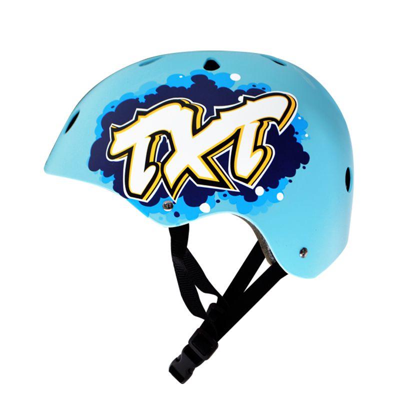 Capacete Esportivo Intermediário Para Esportes Skate / Patins / Bike - Traxart
