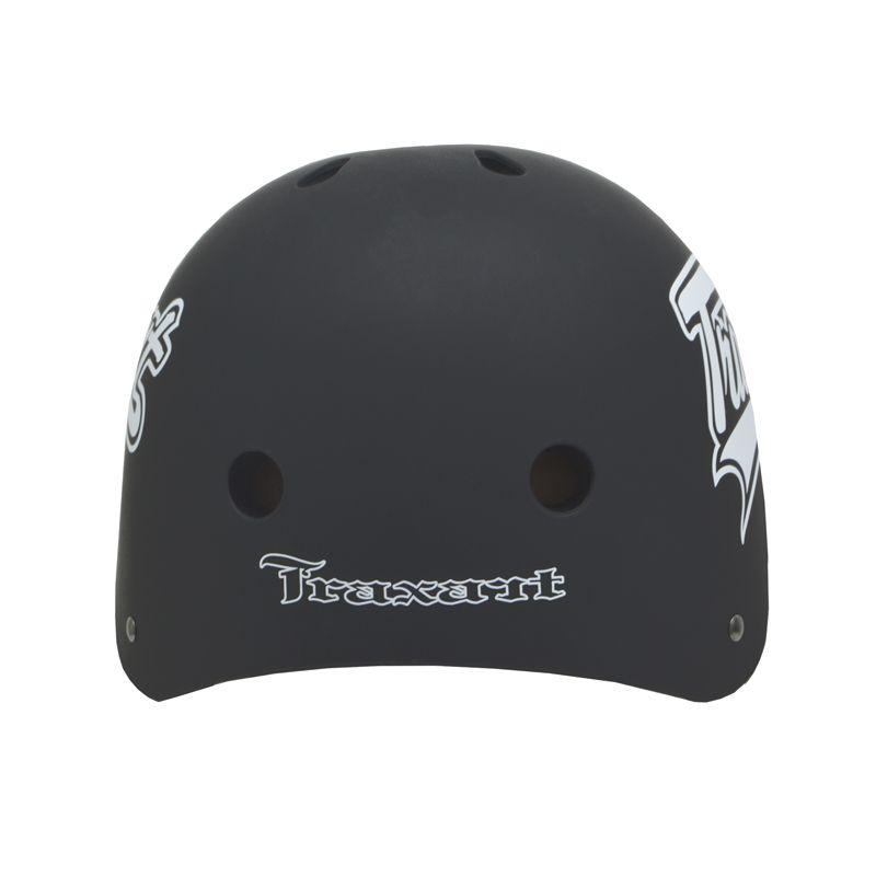 Capacete Esportivo Intermediário Blk Wipe Para Esportes Skate / Patins / Bike - Traxart