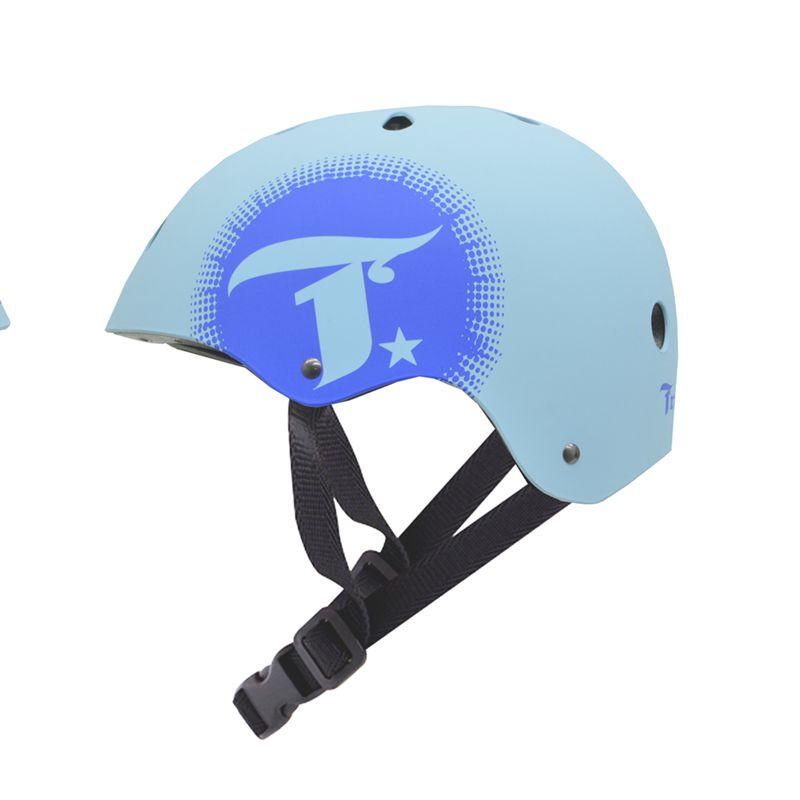 Capacete Esportivo Intermediário Bluesun Para Esportes Skate / Patins / Bike - Traxart