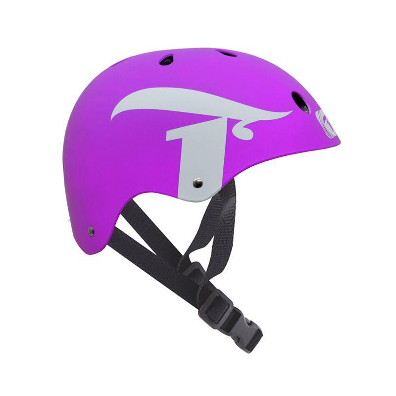 Capacete Esportivo Intermediário Invert Para Esportes Skate / Patins / Bike - Traxart