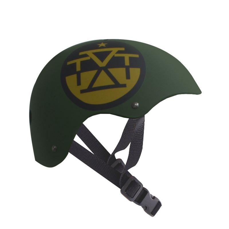 Capacete Esportivo Intermediário Army Para Esportes Skate / Patins / Bike - Traxart