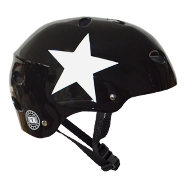 Capacete Esportivo Profissional Black Star  Para Esportes Skate / Patins - Traxart