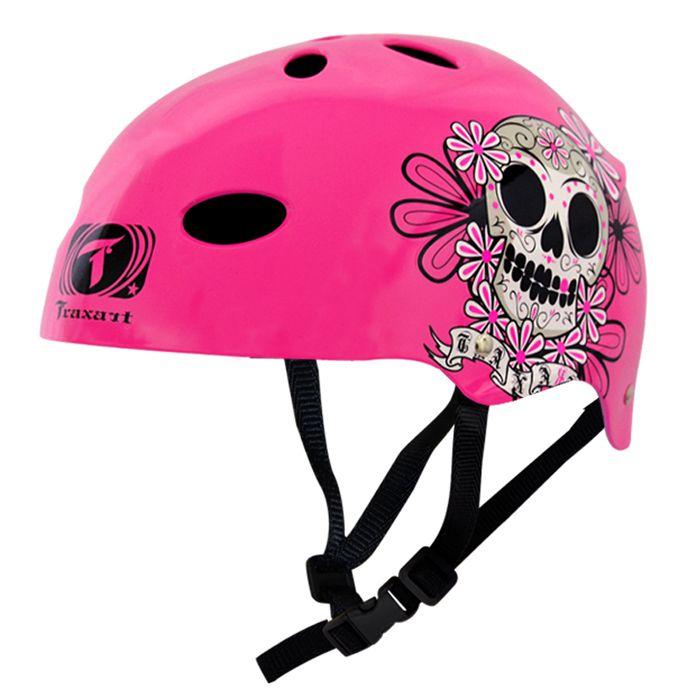 Capacete Esportivo Profissional Chicana  Para Esportes Skate / Patins / Bike - Traxart