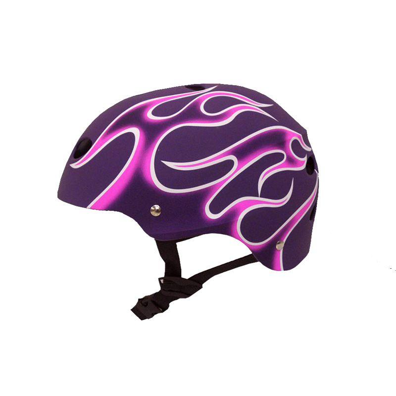 Capacete Esportivo Profissional Flamy  Para Esportes  Skate / Patins / Bike  - Traxart