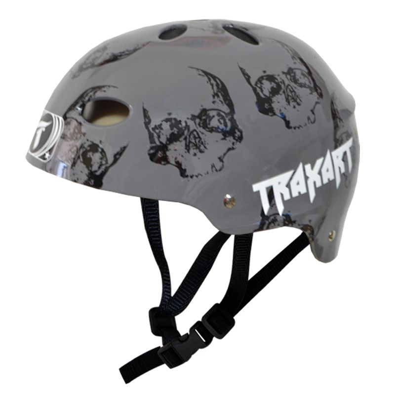 Capacete Esportivo Profissional Kranium  Para Esportes Skate / Patins / Bike - Traxart