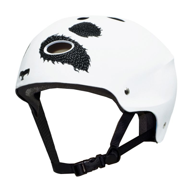 Capacete Esportivo Profissional Panda  Para Esportes Radicais Skate / Patins / Bike- Traxart