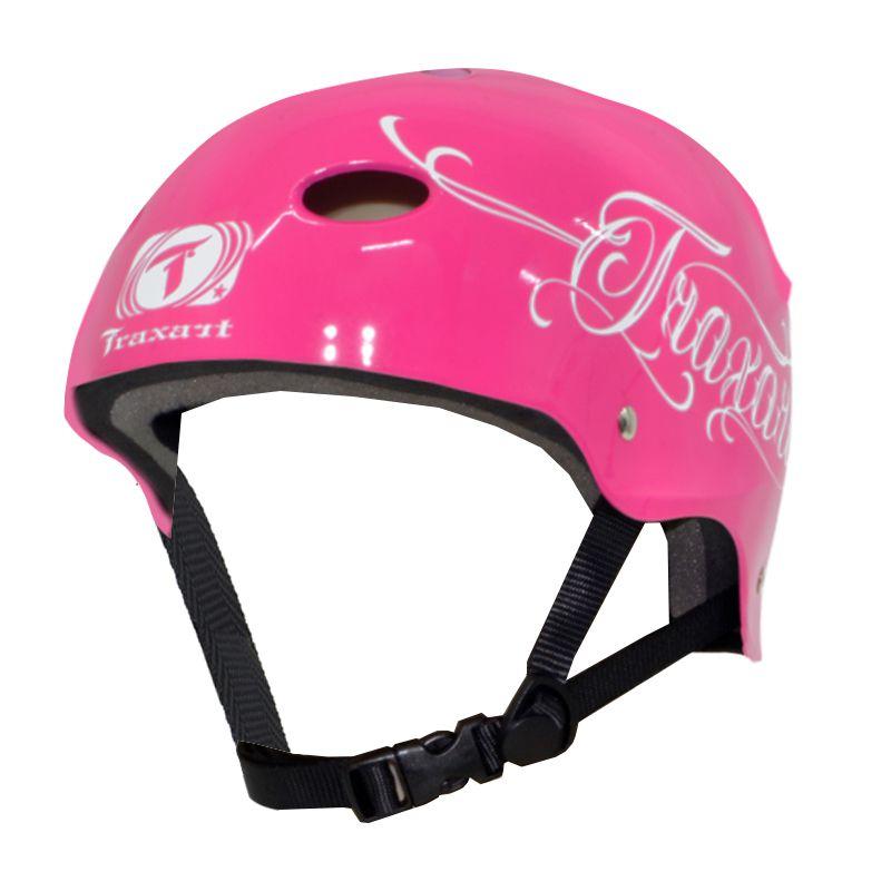 Capacete Traxart- Rosee - Profissional Esportivo para  Skate / Patins / Bike