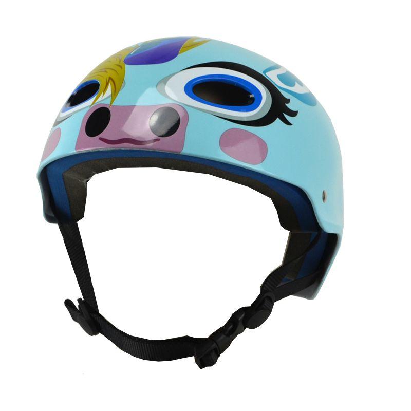 Capacete Esportivo Profissional Unicórnio  Para Esportes Radicais Skate / Patins / Bike - Traxart