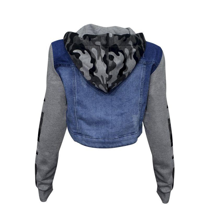 Jaqueta Traxart Jeans e Moletom - DW-052