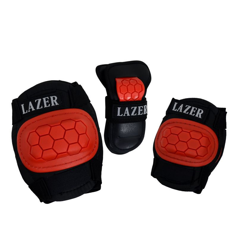 Kit Protetor Infantil Lazer - Vermelho- SSE-512